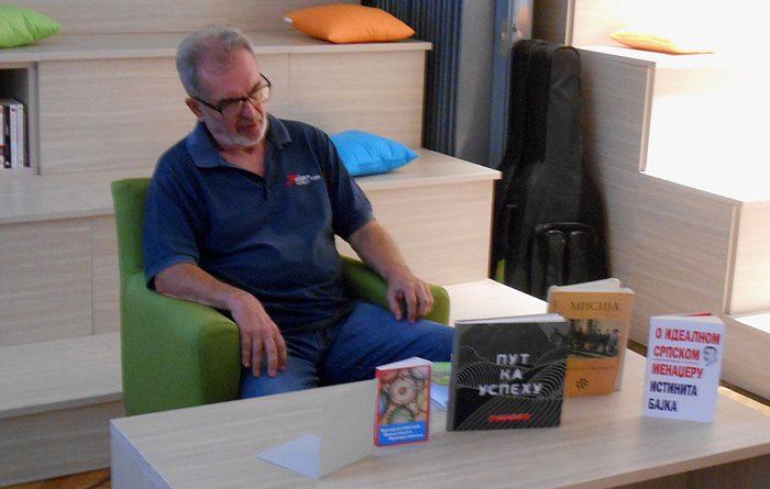Autor knjige Slobodan Ivošević